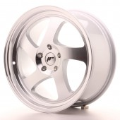 "Japan Racing JR-15 18x8.5"" (4 & 5 trous - sur mesure) ET40, Gris Argenté / Poli"