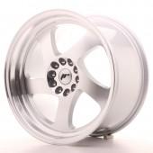 """Japan Racing JR-15 18x9.5"""" 5x114.3/120 ET22, Silver"""