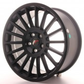 "Japan Racing JR-16 18x8.5"" (5 trous - sur mesure) ET40, Noir Mat / Satiné"