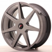 "Japan Racing JR-20 20x8.5"" (5 trous - sur mesure) ET25, Hyper Black"