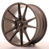 "Japan Racing JR-21 19x8.5"" (5 trous - sur mesure) ET35, Bronze"