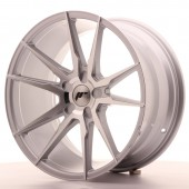 "Japan Racing JR-21 Extreme Concave 19x9.5"" (5 hole custom PCD) ET20-40, Silver"