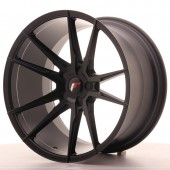 "Japan Racing JR-21 Extreme Concave 20x11"" (5 trous - sur mesure) ET35, Noir Mat / Satiné"