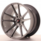 "Japan Racing JR-21 Extreme Concave 20x11"" (5 trous - sur mesure) ET25, Hyper Black"