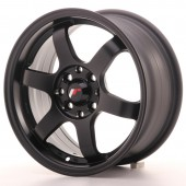 "Japan Racing JR-3 15x7"" 4x100/114.3 ET40, Flat Black"