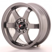 "Japan Racing JR-3 15x7"" 4x100/108 ET25, Gunmetal"