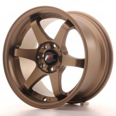 "Japan Racing JR-3 15x8"" 4x100/114.3 ET25, Bronze"