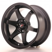 "Japan Racing JR-3 15x8"" 4x100/108 ET25, Flat Black"