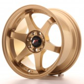 "Japan Racing JR-3 15x8"" 4x100/108 ET25, Gold"