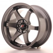 "Japan Racing JR-3 15x8"" 4x100/108 ET25, Gunmetal"