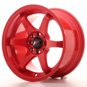 "Japan Racing JR-3 15x8"" 4x100/108 ET25, Red"