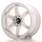 "Japan Racing JR-3 15x8"" 4x100/108 ET25, White"