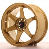 "Japan Racing JR-3 16x8"" 4x100/108 ET25, Gold"