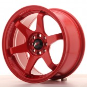 "Japan Racing JR-3 16x8"" 4x100/108 ET25, Red"