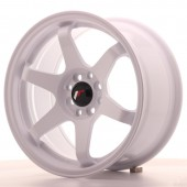 "Japan Racing JR-3 16x8"" 4x100/108 ET25, White"