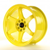 "Japan Racing JR-3 16x8"" 4x100/108 ET25, Yellow"