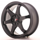 "Japan Racing JR-3 17x7"" 4x100/114.3 ET40, Flat Black"