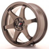 "Japan Racing JR-3 17x7"" 4x100/114.3 ET40, Bronze"