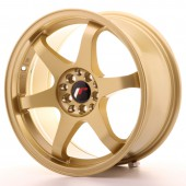 "Japan Racing JR-3 17x8"" 5x100/114.3 ET35, Gold"