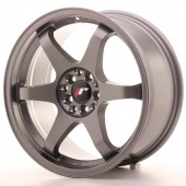 "Japan Racing JR-3 17x8"" 5x100/114.3 ET35, Gunmetal"