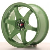 "Japan Racing JR-3 17x8"" 5x100/114.3 ET35, Green"