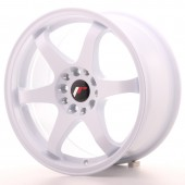 "Japan Racing JR-3 17x8"" 4x100/108 ET25, White"