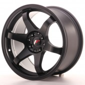 "Japan Racing JR-3 17x9"" 4x100/114.3 ET20, Flat Black"