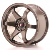 "Japan Racing JR-3 17x9"" 4x100/114.3 ET20, Bronze"