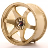 "Japan Racing JR-3 17x9"" 5x100/114.3 ET35, Gold"