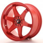 """Japan Racing JR-3 18x9"""" 5x112/114.3 ET40, Rouge"""