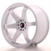 """Japan Racing JR-3 Extreme Concave 19x10.5"""" 5x114.3/120 ET22, White"""
