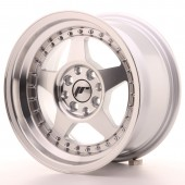 "Japan Racing JR-6 15x8"" 4x100/108 ET25, Silver"