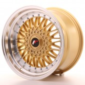 "Japan Racing JR-9 17x10"" 4x100/100 ET20, Gold"