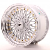 "Japan Racing JR-9 17x10"" 4x100/100 ET20, Silver"