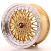 "Japan Racing JR-9 17x8.5"" 4x100/100 ET20, Gold"
