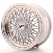 "Japan Racing JR-9 17x8.5"" 4x100/100 ET20, Silver"