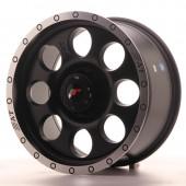 "Japan Racing JRX-4 17x8.5"" (5 & 6 hole custom PCD) ET20-35, Flat Black"
