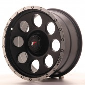 "Japan Racing JRX-4 18x9"" (6 hole custom PCD) ET0-20, Flat Black"