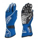 Sparco Lap RG-5 Gloves - Blue (FIA)