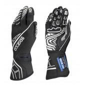 Sparco Lap RG-5 Gloves - Black (FIA)