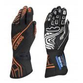 Sparco Lap RG-5 Gloves - Black & Orange (FIA)