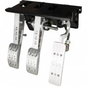 OBP 3 Pedal Box with Master Cylinders (Bulkhead Mount)