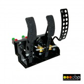 OBP 3 Pedal Box with Master Cylinders (Floor Mount)