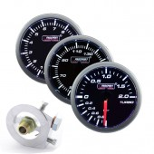 Pack 3 Manomètres Prosport - Turbo/Huile