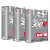 Motul 300V Chrono Engine Oil Promo Pack 10W40 (3 x 2L)