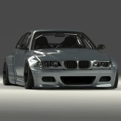 Pandem Bodykit for BMW M3 E46