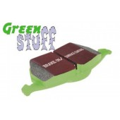 EBC GreenStuff Front Brake Pads for Nissan Sunny 1.6/1.8 GTi (N13) from 1986 to 1992 (DP2665)