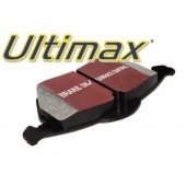 EBC Ultimax Rear Brake Pads for Nissan Sunny 1.6/1.8 GTi (N13) from 1986 to 1992 (DP682)