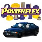 Silentblocs Powerflex pour BMW E36 Compact