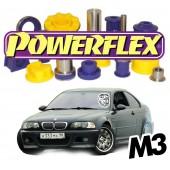 Silentblocs Powerflex pour BMW E46 M3